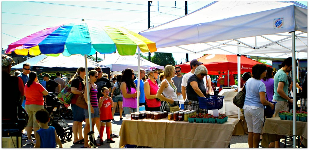 Ambler Farmers Market opening day