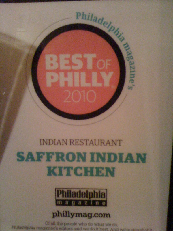 Saffron Best of Philly