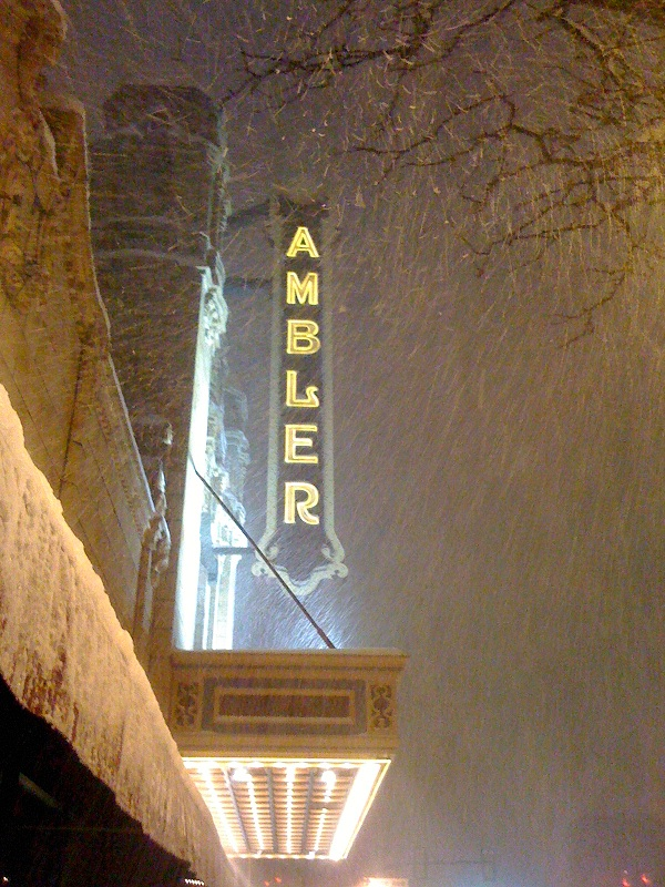 Ambler Theater Snowpacolypse \'11
